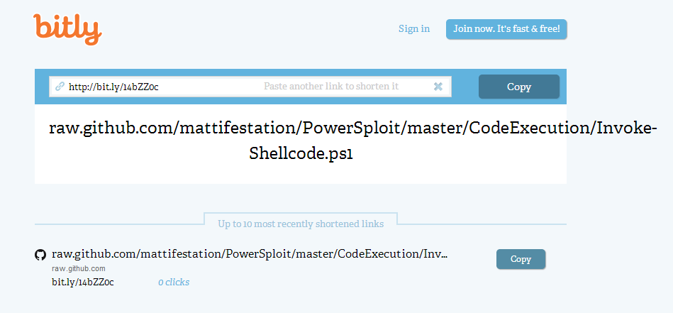 bitly PowerSploit: The Easiest Shell Youll Ever Get