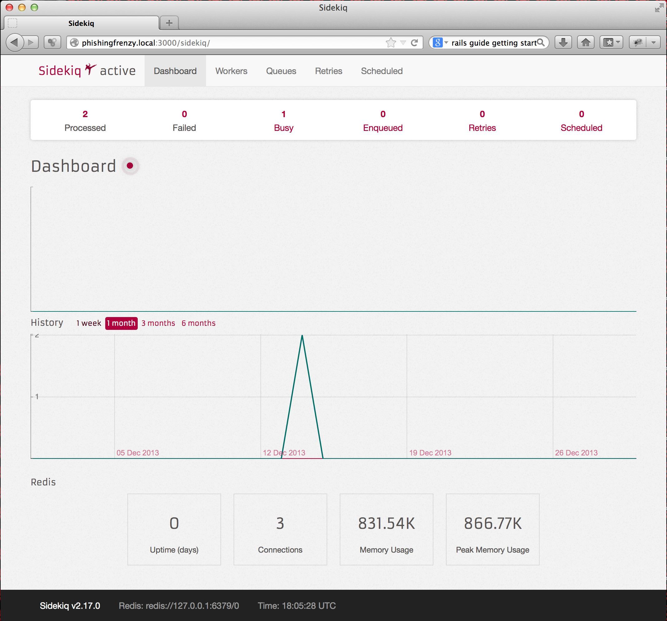 sidekiq Phishing Frenzy: Installing the Monster