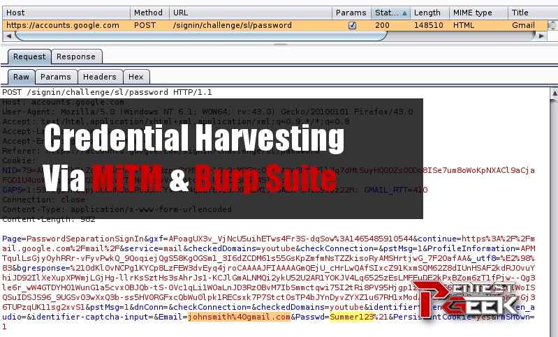 Credential-Harvesting-Via-MiTM-Burp-Suite