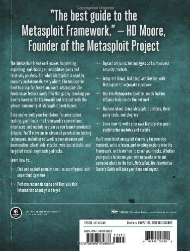 metasploit the penetration testers guide 0 0 pentest geek rh pentestgeek com Metasploit Framework metasploit the pen tester's guide pdf