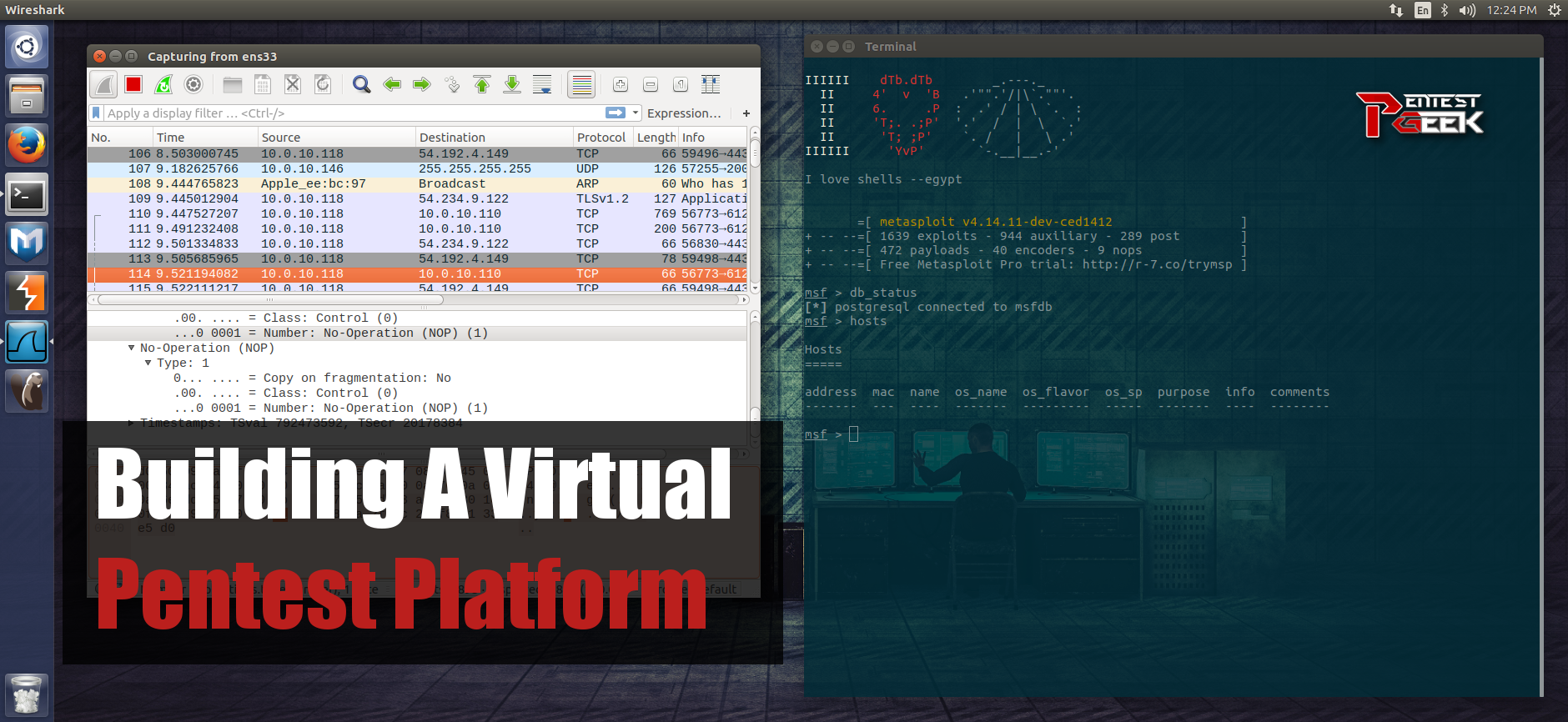 Buiding A Virtual Pentest Platform