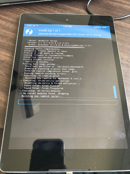 Installing Kali NetHunter on HTC Nexus 9 - Pentest Geek